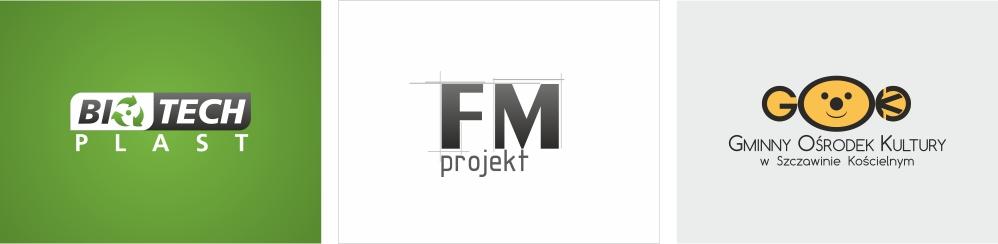 Projekt logo - przykłady Planeta Grafiki - Marek Góralczuk