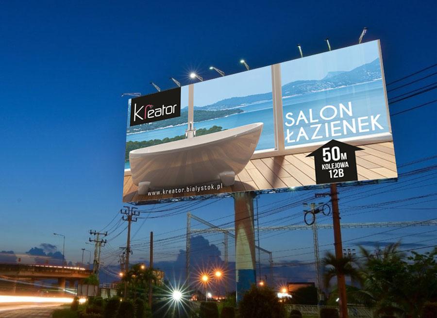 Projekt billboardu - Planeta Grafiki - Marek Góralczuk