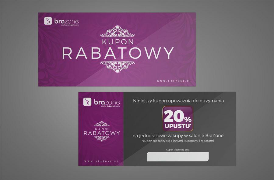 Projekt kuponu rabatowego - Planeta Grafiki - Marek Góralczuk