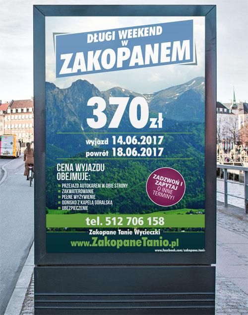 Projekt plakatu A3 / A2 / B2 - Planeta Grafiki - Marek Góralczuk